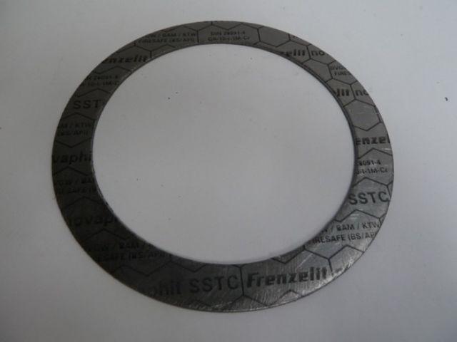 Frenzelit novaphit SSTC Graphitdichtungsmaterial Dichtung 273x220x2mm – Bild 1