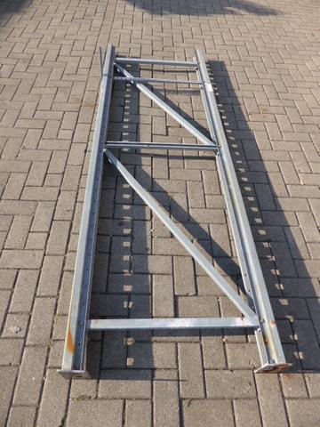 Bito P 18 Palettenregal Regalrahmen Ständer 248x80cm verzinkt – Bild 1