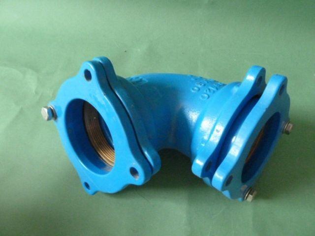 ISIFLO Duktilguss Typ 120 Winkel 90° Verbindungsstück  90x90 – Bild 3