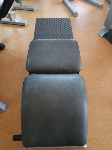 gym80 Profi Fitnessgerät Kraftstation Bauchmuskelbank Bauchtrainer Bachbeuger Gym 80 – Bild 3