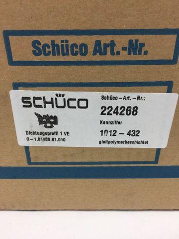 (2,99€/m) Schüco Dichtungsprofil Art 224268 AWS 7mm Gleitpolymer Fensterdichtung – Bild 2