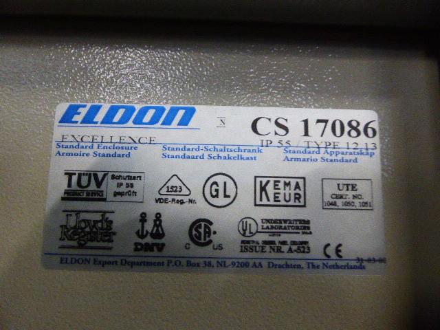 Eldon CS 17086 Schaltschrank Anreihschrank eintürig 170x80x60cm – Bild 6