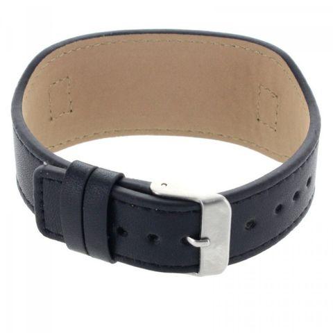 Lederarmband Armkette Armband Edelstahl Gravurplatte mit Wunschgravur – Bild 2