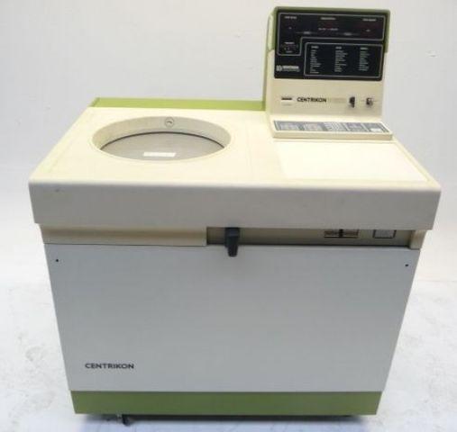 Tegimenta Kontron Centrikon T-2070 Ultrazentrifuge Kühlzentrifuge Zentrifuge