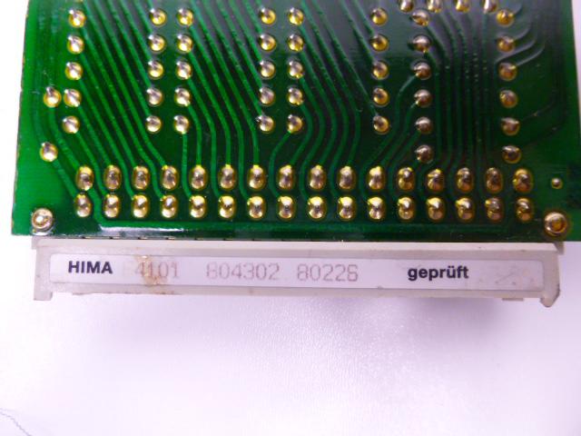 HIMA F4101 F 4101 Steckkarte Eurocard – Bild 3