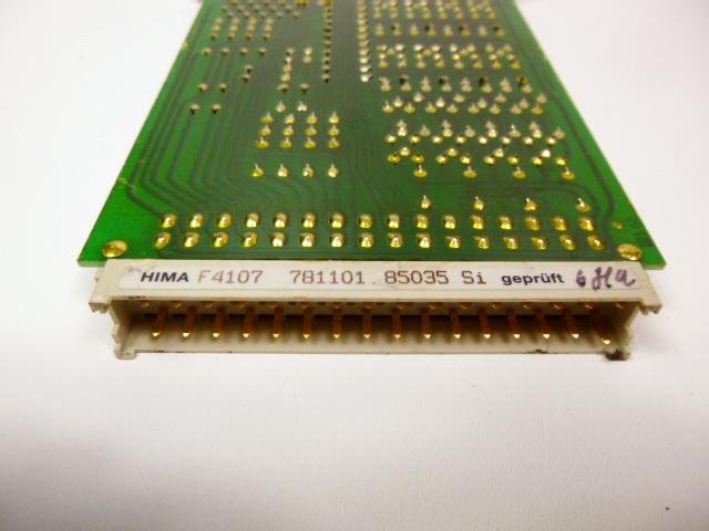 HIMA F4107 F 4107 Steckkarte Eurocard – Bild 3