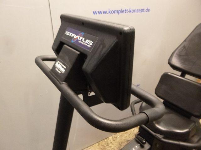 Stairmaster Stratus 3900 Profi Fitnessgerät Liege Ergometer Ergo Sitzergometer  – Bild 2