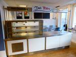 Bistro Küche Betriebskantine Kühltheke mit Arbeitsfläche 330cm Kühlvitrine
