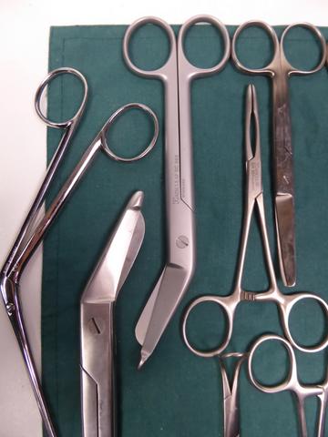 14-teilig Chirurgie Instrumente Set OP Besteck Aesculap Medicon – Bild 3