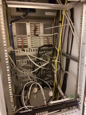 8x Stück Serverschränke Server Schrank Serverrack Netzwerkschrank Krieg Notel Imrak  – Bild 21