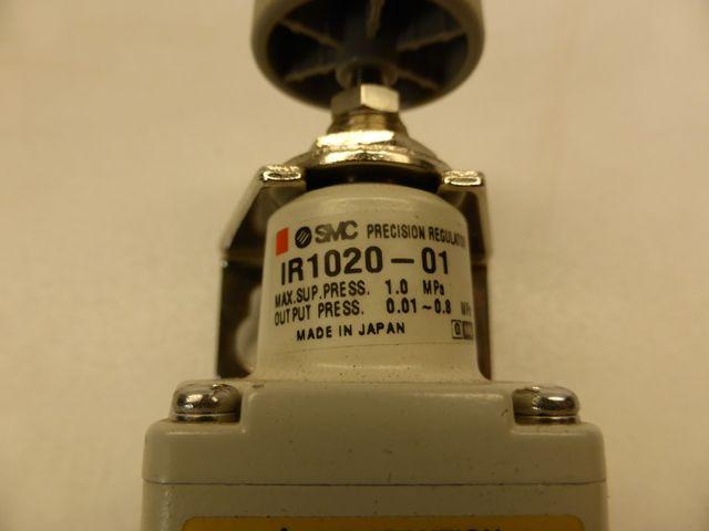 SMC IR 1020-01 Präzisionsdruckregler Druckregler – Bild 2
