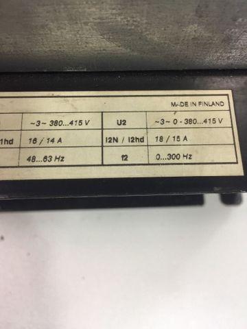 ABB ACS 60100113000C120000 48....63Hz 0...300 Hz 18/15 A Frequenz 601-0011 – Bild 8