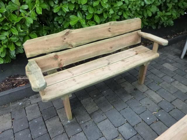 5-teilige Gartengarnitur Malibu Gartenmöbel Sitzgruppe massive Holzgarnitur 899€ – Bild 17