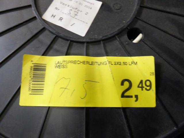 (9,07 €/kg) Posten 77 Kg Saunaleitung Silikonleitung Zwillingsleitung Lautsprecherkabel – Bild 6