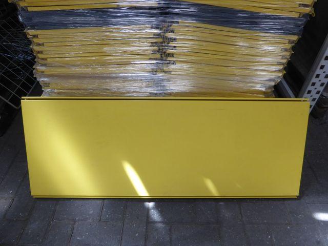 Tegometall Fachboden 133x47cm Stahlfachboden gelb Neu – Bild 4