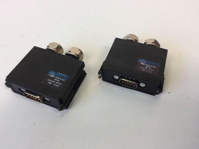 Festo FBS-SUB-9-GS-DP-B  9pin Plug In Pneumatik – Bild 1