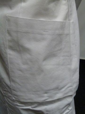 Uvex Frauenmantel Abeitskleidung Mantel weiß Größe 40 Neu – Bild 5