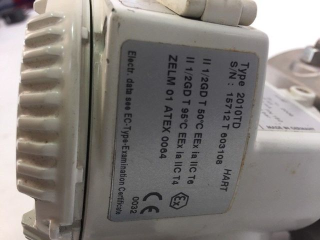 ABB Transmitter 2010TD Differenzdruck Messumformer Multi Vision Hart – Bild 2