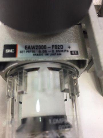 SMC EAV2000-F02-5YO-Q Ventilinsel Startverzögerungsventil EAW2000-F02D + EAR2000 – Bild 4