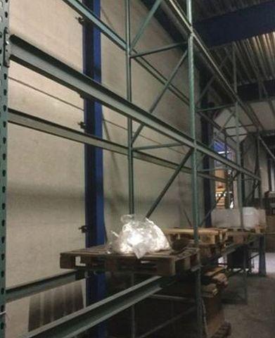 Regal 51 lfm Palettenregal Schwerlastregal schwere Stahlträger Traversen 3,9m h – Bild 5