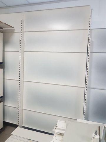 Kompl. Laden Einrichtung Tegometall Regal Ladenregal Gondelregal  – Bild 1