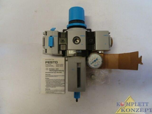 FESTO Wartungseinheit LFR-M2-G1/4-E10R NEU/OVP – Bild 2