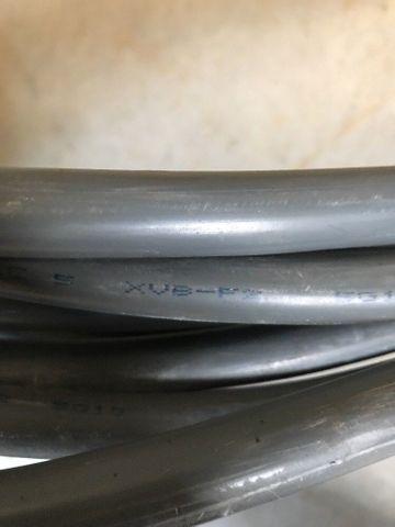 Kabel 19m XVB-F2  5G10, 0,6/1 KV Stromkabel Leitung 5x4mm – Bild 4