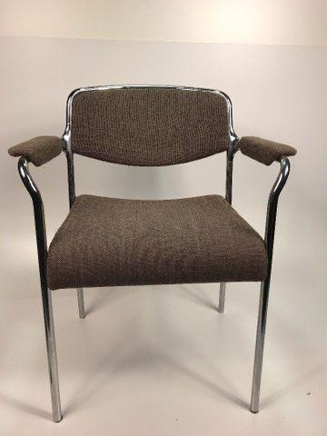 5x Stuhl Stapelstuhl Konferenzstuhl Schulstuhl Lübke 5 Stühle – Bild 1