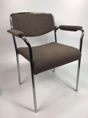 5x Stuhl Stapelstuhl Konferenzstuhl Schulstuhl Lübke 5 Stühle – Bild 2