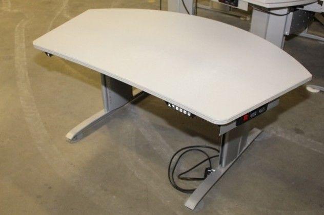 Profi Schreibtisch elektrisch höhenverstellbar Mewaf schwere Qualität, Np 2250€