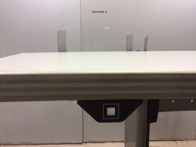 Profi Schreibtisch elektrisch höhenverstellbar Mewaf schwere Qualität, Np 2250€ – Bild 6