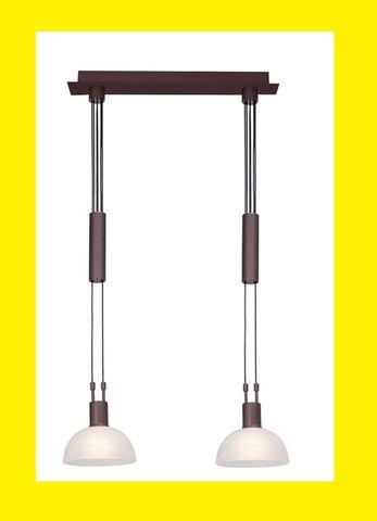 BRILLIANT Amira Pendelleuchte 77371/20 höhenverstellbar Pendellampe Lampe 2-fl. – Bild 2