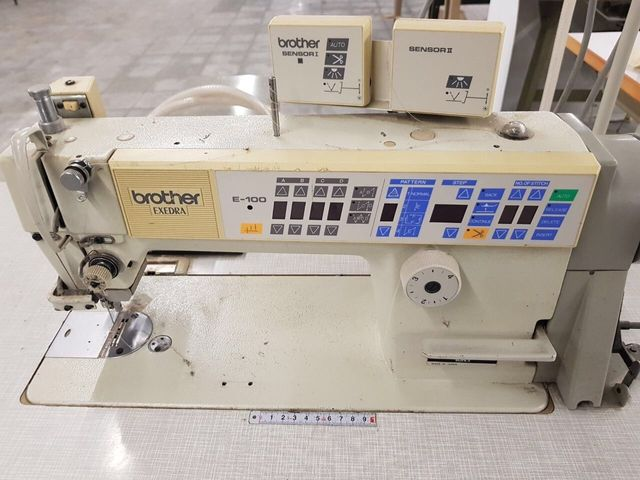 Nähmaschine Brother Exedra E-100 Mark II, Foot Lifter FB II, MD-816B, – Bild 1