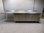 Polaris Kühltheke mit Arbeitsfläche 295cm KTAP03 4-türig Kühlschrank Gastronomie 001