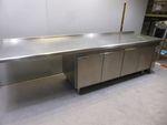 Polaris Kühltheke mit Arbeitsfläche 295cm KTAP03 4-türig Kühlschrank Gastronomie 002