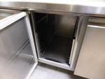 Polaris Kühltheke mit Arbeitsfläche 295cm KTAP03 4-türig Kühlschrank Gastronomie 008