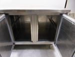 Arevalo Gastro Edelstahl Kühltisch Kühltheke 194x70cm Bild 8