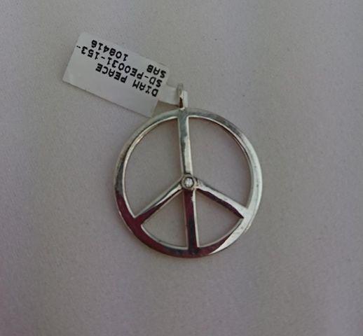 THOMAS SABO Silber-Anhänger Peace 925er Silber Kettenanhänger UVP*139,- ❤ NEU ❤ – Bild 1