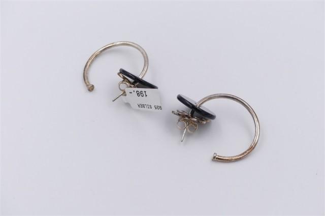 THOMAS SABO Silber Creolen mit Anhänger 925er Silber UVP*198,- ❤NEU❤ Ohrringe – Bild 1