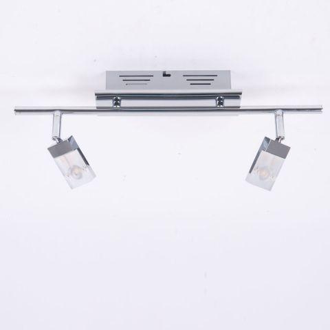 BRILLIANT Hajo 2fl. LED-Deckenstrahler 6W NEU G16413/15 Deckenlampe Spot Lampe