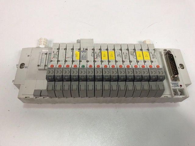 SMC Ventilinsel 13x SY3140-5FU-0, 1x SY3342-5FU Montageventil M-887661 – Bild 1