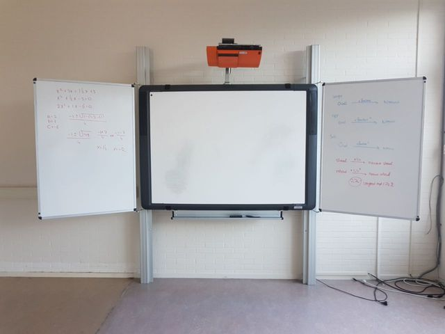 Promethean ActivBoard Whiteboard Hitachi ED-A110 LCD Projector Beamer Board – Bild 2