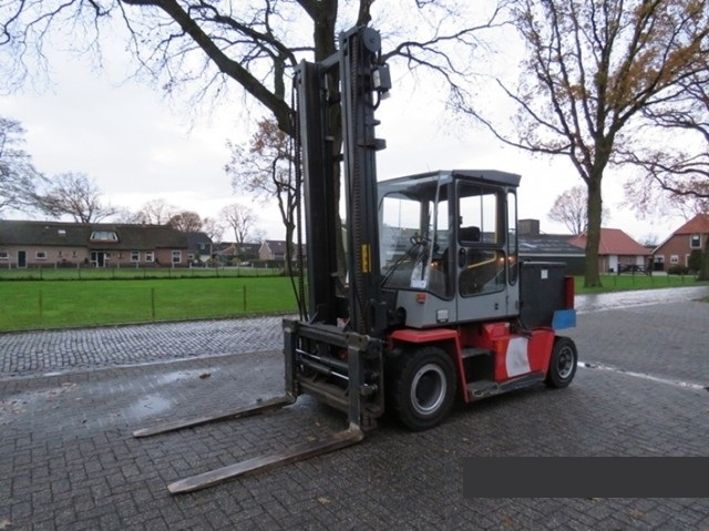 Kalmar Gabelstapler Elektro ECD60-6 Hubvermögen 6000kg 6to Elektrogabelstapler