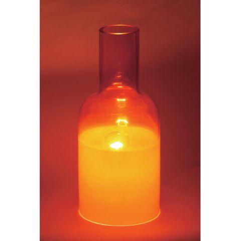 BRILLIANT Doris 92921/01 E14 in rot Tischleuchte Schreibtischlampe Deko NEU – Bild 2
