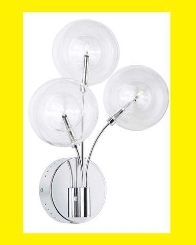 BRILLIANT Mystique 3-flammig G19393/15 NEU Wandlampe Leuchte Lampe Flurlampe – Bild 1
