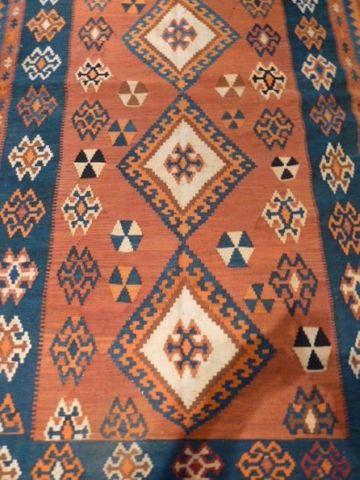 Hochwertiger Orientteppich Teppich Läufer Kelim Iran 278x159cm – Bild 4