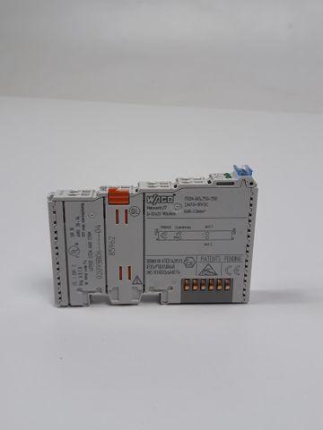 Wago I/O 750-550 2AO 0-10V DC 2 Kanal Analogausgangsklemme Analogklemme analog – Bild 1