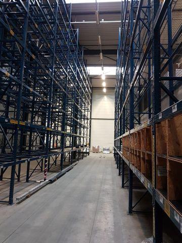 Polypal Regal 10m 8m 7m 6m 5m Palettenregal Traversen Schwerlastregal T:80cm – Bild 8