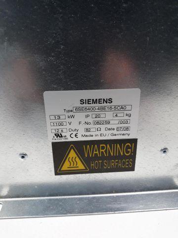 MICROMASTER MM4 Bremswiderstand 6SE6400-4BE16-5CA0 500-600V 82R 13000W PK  IP20 – Bild 2