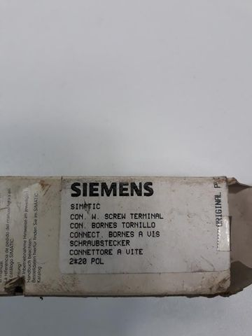 SIEMENS Schraubstecker 2*20 POL Screw terminal Connecter SIMATIC – Bild 4